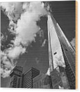 The Shard London Wood Print