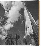 The Shard London Wood Print by Ed Pettitt