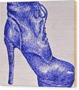 The Shoe Wood Print
