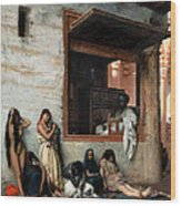 The Slave Market Wood Print