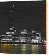 The South Bank London Wood Print