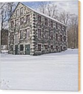 The Stone Mill At The Enfield Shaker Museum Wood Print