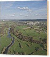 The Sèvre River, Tiffauges Wood Print