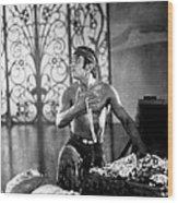The Thief Of Bagdad, Douglas Fairbanks Wood Print