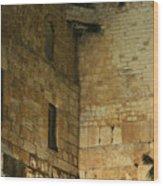 The Wailing Wall Wood Print