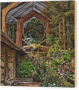 The Wayfarers Chapel Wood Print