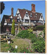 The Weavers Southborough Kent Wood Print