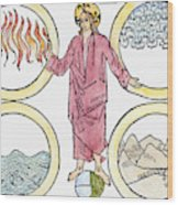 The World Soul, 1487 Wood Print