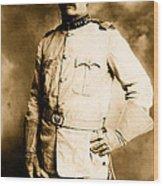 Theodore Roosevelt 1898 Wood Print