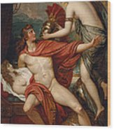 Thetis Bringing The Armor To Achilles Wood Print
