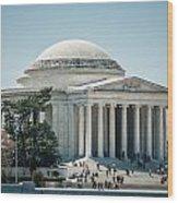 Thomas Jefferson Memorial In Washington Dc Usa Wood Print