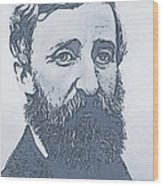 Thoreau Wood Print