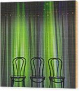 Three Wood Print by Margie Hurwich