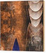 Throneroom Wood Print