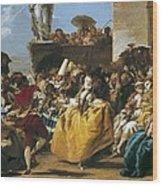 Tiepolo, Giovanni Domenico 1727-1804 Wood Print