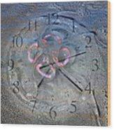 Timing Wood Print