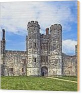 Titchfield Abbey Wood Print