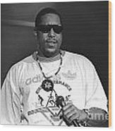 Rapper Tone Loc Wood Print