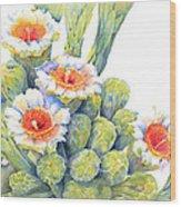 Top Bloomers Wood Print
