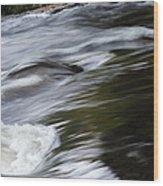 Top Of The Falls Wood Print