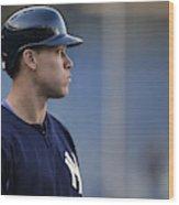 Toronto Blue Jays v New York Yankees Wood Print