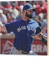 Toronto Blue Jays V Texas Rangers Wood Print