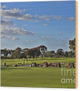 Torrey Pines Golf Course Wood Print