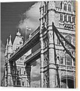 Tower Bridge In London Wood Print