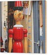 Toy Wood Print by April Antonia
