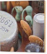 Transistors  Wood Print by Jim Pruitt