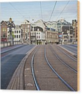 Transport Infrastructure In Amsterdam Wood Print