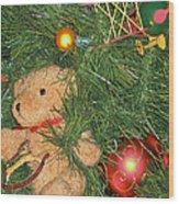 Tree Of Toys Wood Print