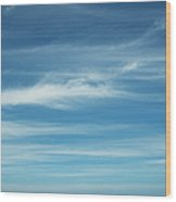 Tropical Ocean And Sky Wood Print