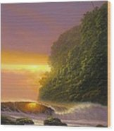 Tropical Radiance Wood Print