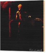 Troubadour Wood Print