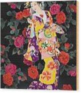 Tsubaki Wood Print