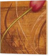 Tulips Are People Xi Wood Print