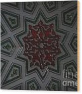 Turkish Tile Design Wood Print