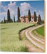 Tuscan Classic Wood Print