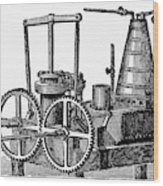 Twin-screw Steamer, 1878 Wood Print