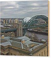 Tyne Bridge Wood Print