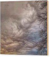 Undulatus Asperatus Clouds Wood Print