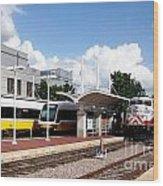 Union Station Dallas Texas Wood Print
