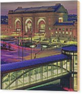 Union Station Wood Print by Don Wolf