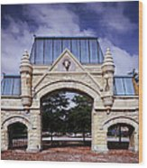 Union Stock Yard Gate - Chicago Wood Print