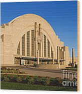 Union Terminal, Cincinnati Wood Print