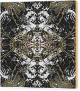 Unnatural 37 Wood Print