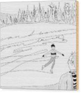 New Yorker February 14th, 2005 Wood Print