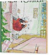 New Yorker December 13th, 2010 Wood Print