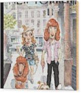 New Yorker June 27th, 2011 Wood Print